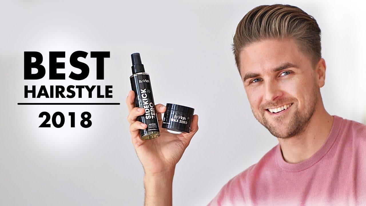 Best Hairstyle Tutorial For Men 2018 Wax Zero Slikhaartv Youtube