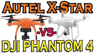 Autel X-Star or DJI Phantom 4? - Demunseed