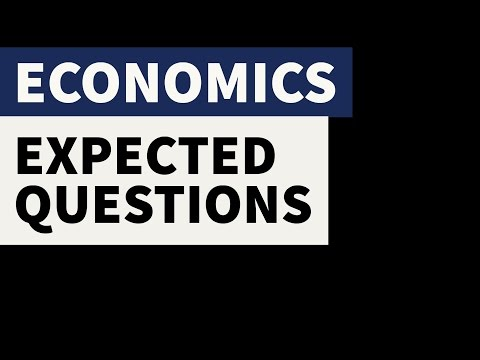 Expected Economics MCQ questions in SSC CHSL , SSC CGL Part 1