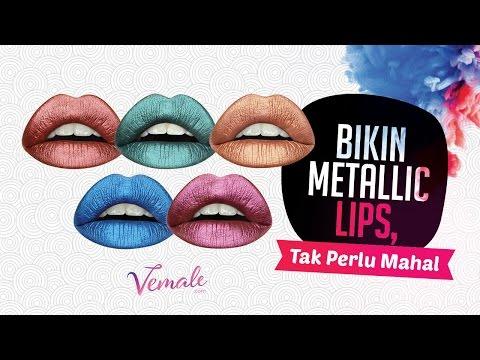 cara-bikin-metallic-lips-hits-tanpa-bikin-kantong-kering