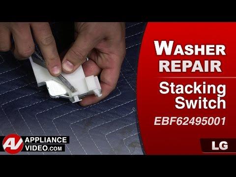 LG - Pedestal Washer – E7 error code – Stacking Switch