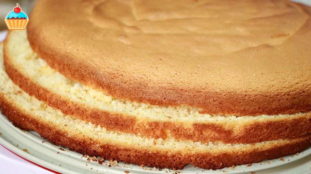 Простые бисквиты для торта