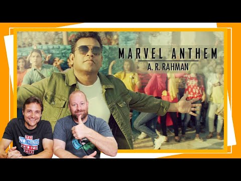 Marvel Anthem | AR Rahman | REACTION | Tamil