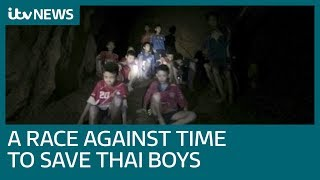 Water pumped from Thai cave as bid to rescue trapped boys intensifies | ITV News