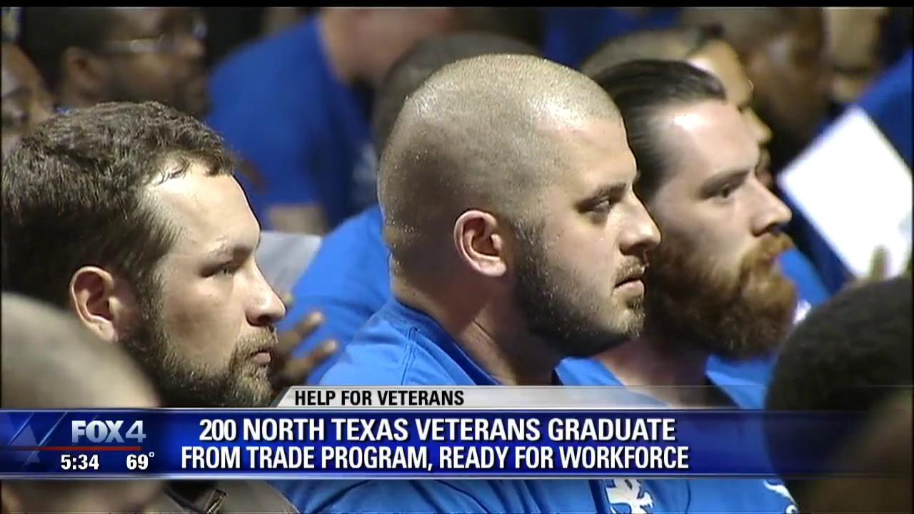 vets graduate from trade school program vets graduate from trade school program