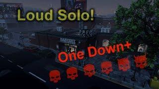 Bank Heist Solo Loud com o Mod One Down Plus [PAYDAY 2] PC