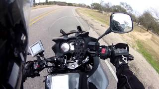 Around the US on a Motorcycle #5: San Antonio, Camping, Austin-bound!