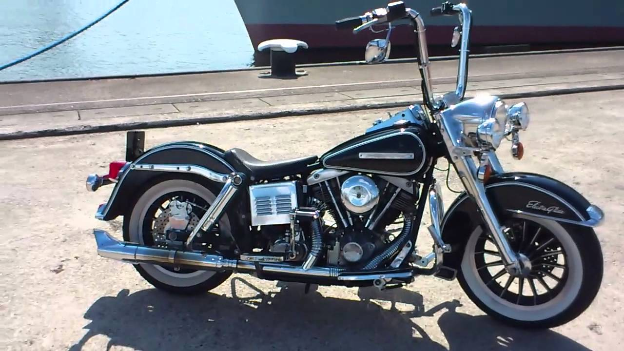 Harley Davidson For Sale California >> 1976 HARLEY FLH SHOVEL CUSTOM FROM ROTTERDAM HOLLAND ...! - YouTube