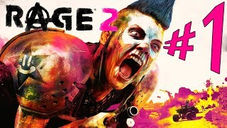 RAGE 2 - Parte 1: Ranger Walker [ PC - Playthrough ]