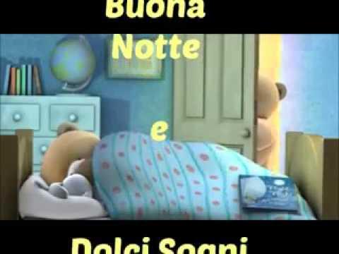 Buona notte e dolci sogni