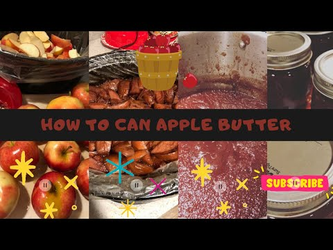 How To Can Apple Butter