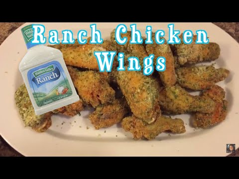 How To Make Ranch Chicken Wings