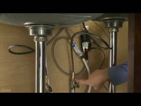 installing a pilar waterfall kitchen faucet youtube rh youtube com Contemporary Kitchen Faucets Kitchen Faucet Types