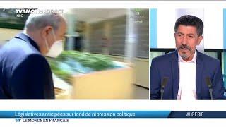 Algérie : législatives anticipées sur fond de répression politique