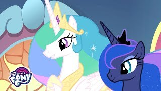 'Princesses Celestia & Luna's Important News' Official Clip   MLP: Friendship is Magic Season 9