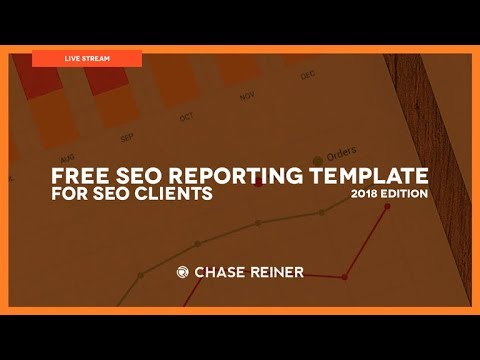Free SEO Reporting Template For SEO Clients 2018 - YouTube