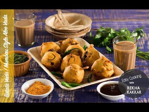 Batata vada recipe aloo bonda mumbai street food indian fast batata vada recipe aloo bonda mumbai street food indian fast food recipe forumfinder Choice Image