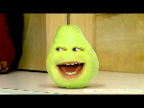 Annoying Orange Annoying Pear - YouTube