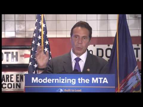 Governor Cuomo Unveils Design Of Reimagined MTA Subway Cars
