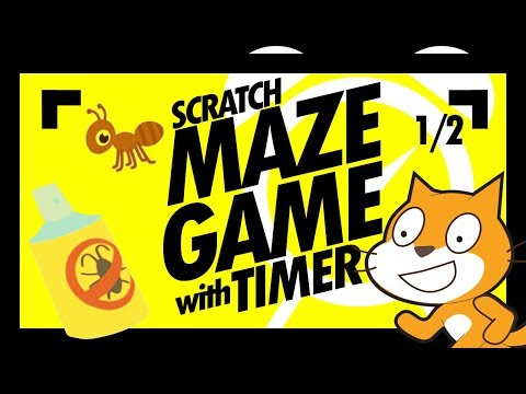 Scratch Games - Barrier Maze Game With Timer (Part 1)