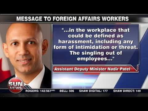 Bad blood among foreign service workers?