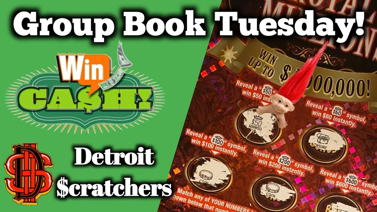GROUP BOOK TUESDAY! $ WIN MONEY WHILE LIVE $ DETROIT SCRATCHERS