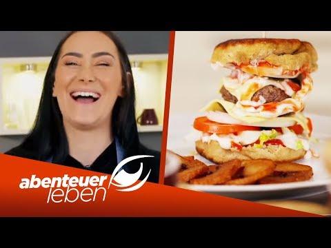 Burger mit Curly Fries selbst gemacht! Kriegt das die Jugend hin? | Abenteuer Leben | kabel eins