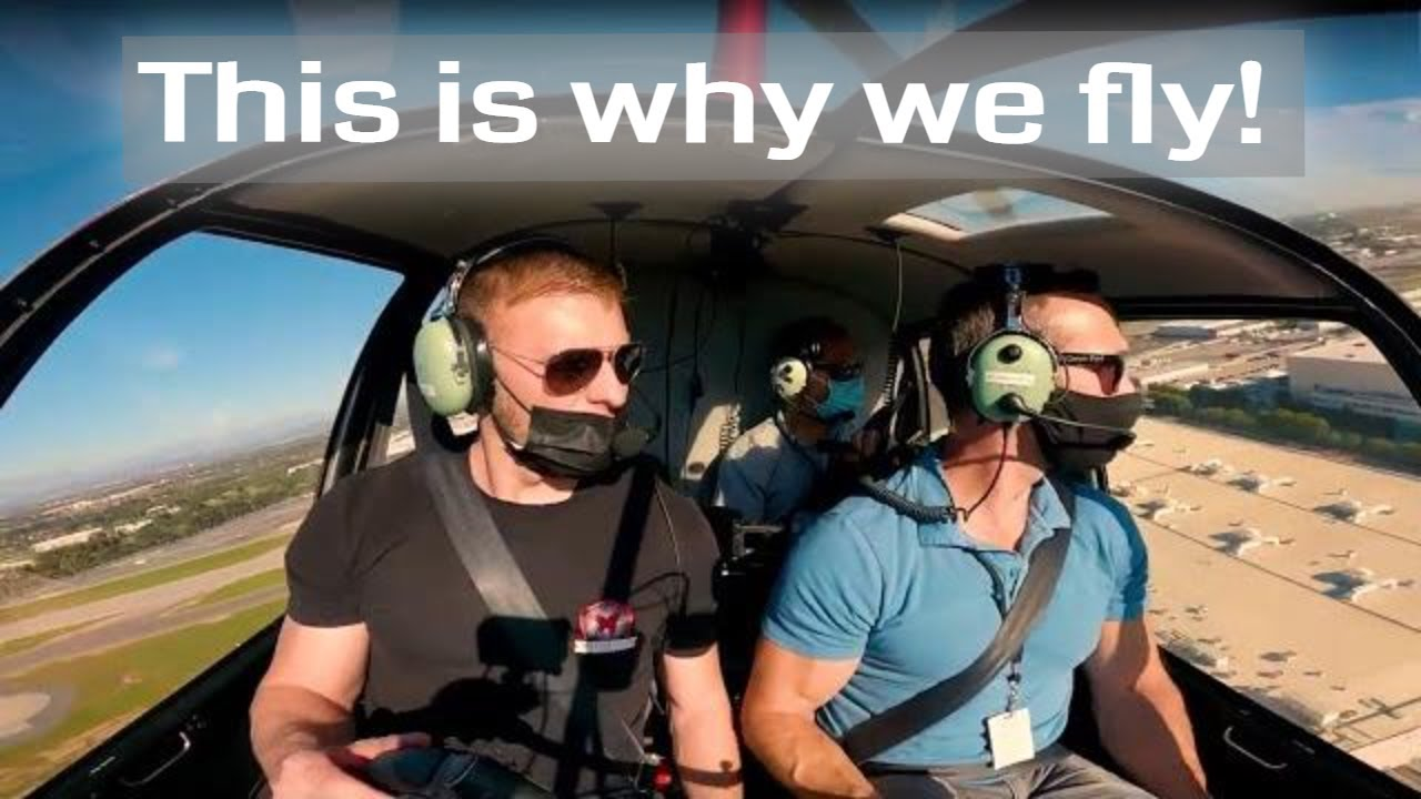 Learning to pilot a helicopter | This is why we fly