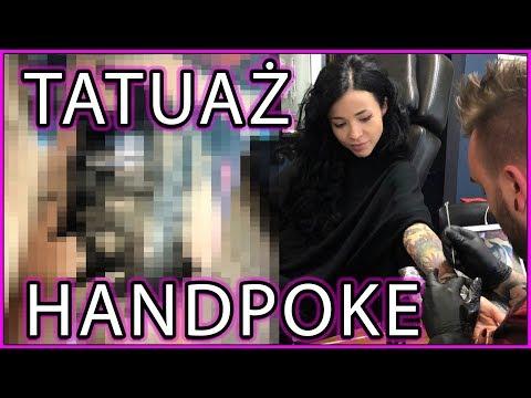 Tatuaż bez prądu - HANDPOKE - bezbolesna metoda? tatuaż palców, uszu, powiek, tatuaż białym tuszem