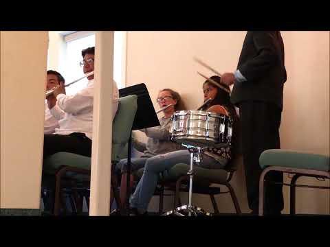 Yuba City Charter School Band, Graduation 2018