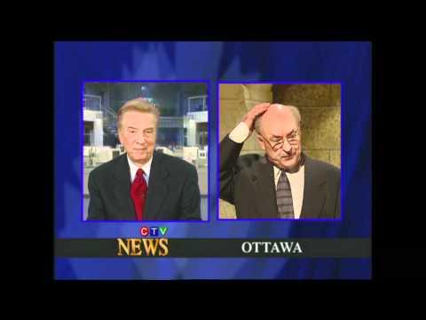 Lloyd Robertson on Royal Canadian Air Farce
