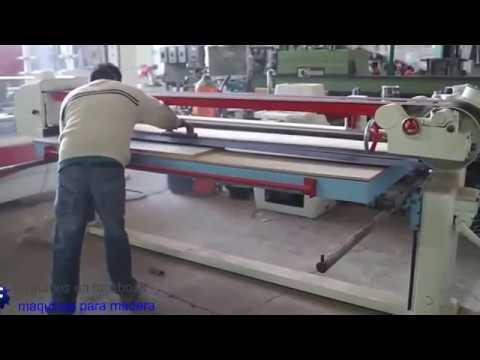 Lijadora de banda doble para tableros heesemann maquinas - Lijadora para madera ...