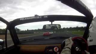 mx5 Enduro Crash - Croft