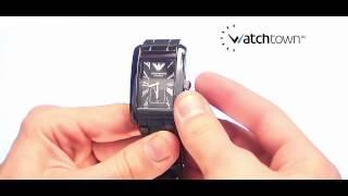 Обзор часов Emporio Armani AR1406(http://watchtown.ru/catalog/emporio_armani/AR1406/ Видеообзор мужских наручных часов Emporio Armani AR1406 серии Ceramica. Стекло минеральное,., 2015-06-30T17:52:49.000Z)