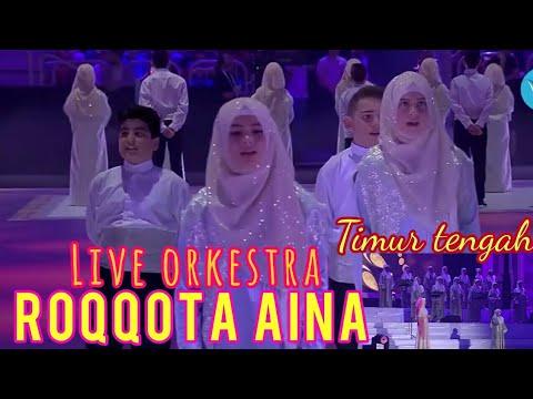 Roqqota aina live konser di timur tengah | cantik islami