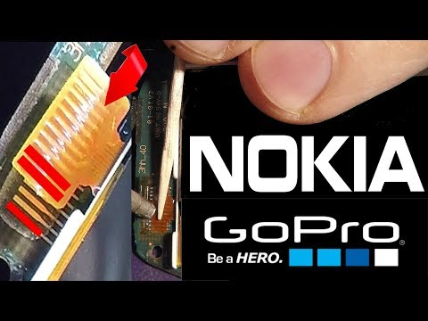 Change display Nokia 100, 108, 112, 113, 130, 1800, 1616, 1280, 1661 - process of soldering iron