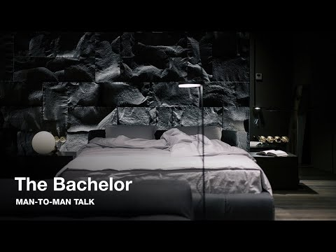 BACHELOR APARTMENT TOUR: stylish, small & dark