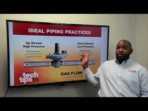 Tech Tips: Gas Regulator Installation/Piping