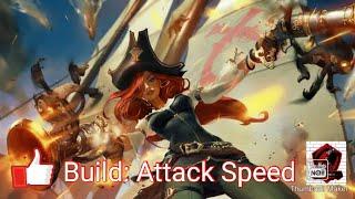 League Of Legends Wildrift Alpha Test Rank Mode Miss Fortune Attack speed Build