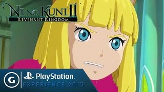 Ni No Kuni II: Revenant Kingdom - Playstation Experience 2015