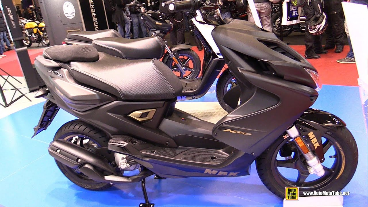 2016 mbk nitro naked 50 scooter walkaround 2015 salon de la moto paris youtube. Black Bedroom Furniture Sets. Home Design Ideas