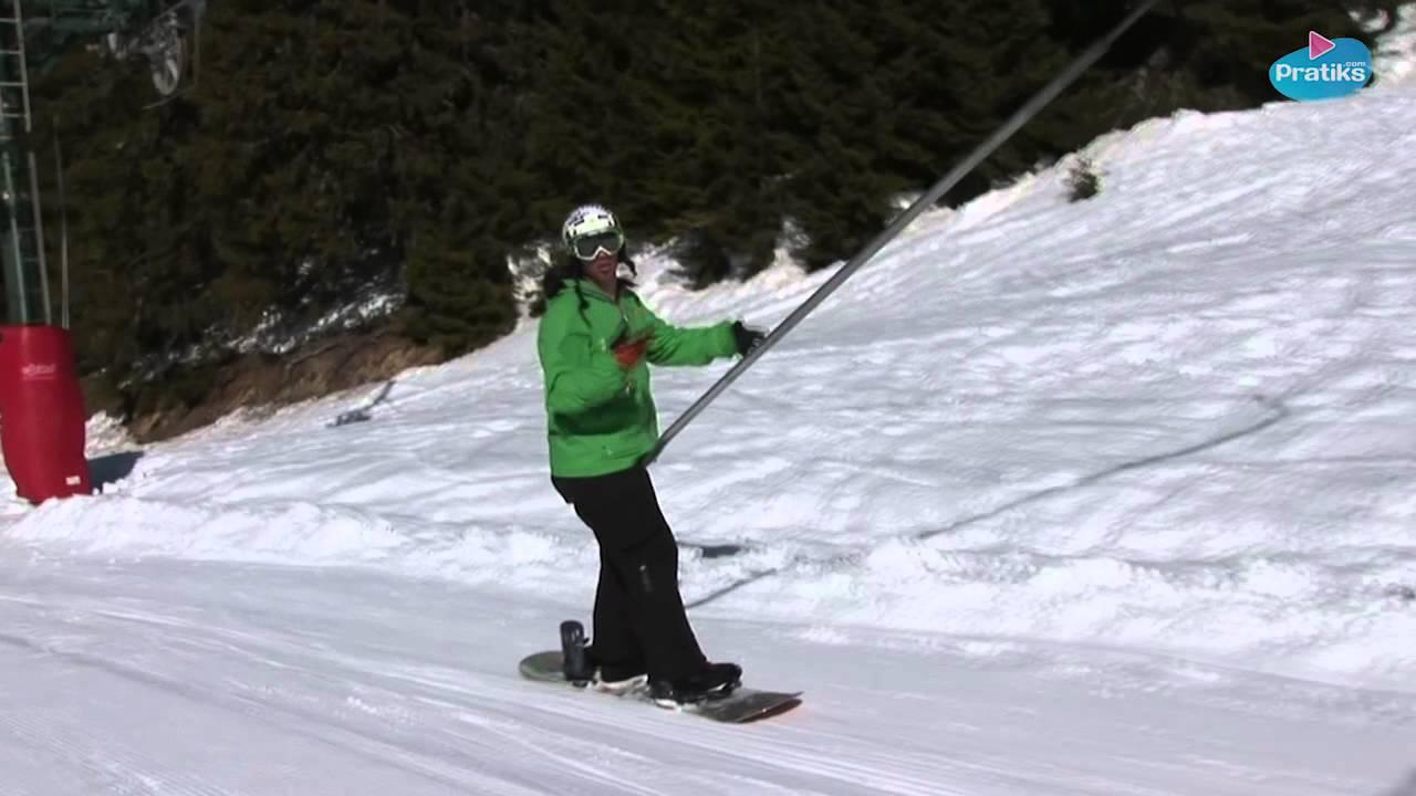 comment prendre un slide en ski