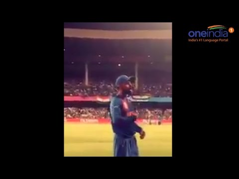 Virat Kohli's video asking fans to chant India instead of his name Mp3