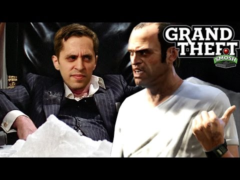EPIC DRUG HEIST IN GTA (Grand Theft Smosh)