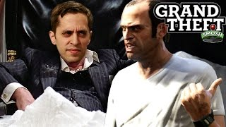 EPIC DRUG HEIST IN GTA (Grand Theft Smosh)