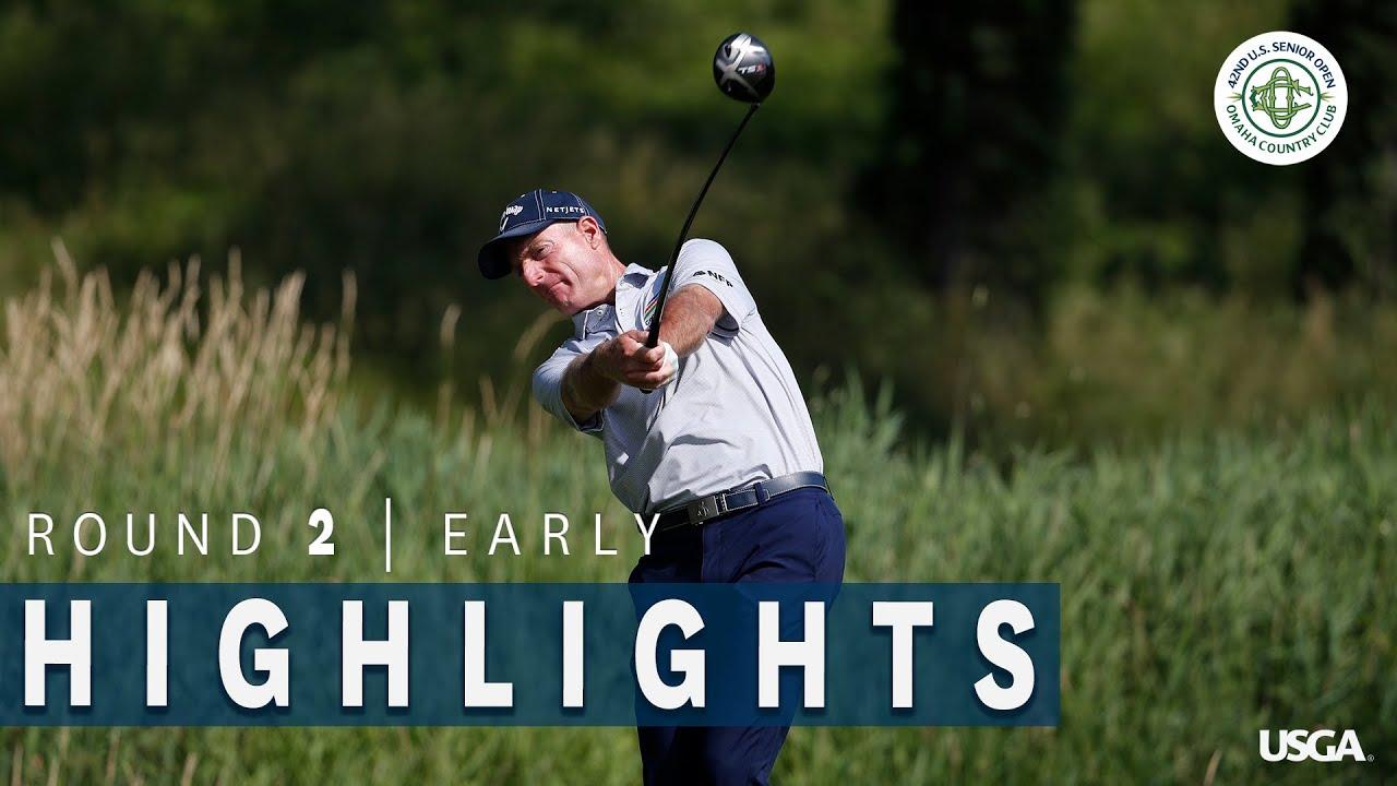 2021 U.S. Senior Open Highlights: Round 2, Early