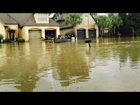 WE LOST EVERYTHING!! HISTORIC FLOOD BATON ROUGE, LOUISIANA