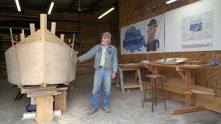 Tips from a Shipwright Season 3: The 23' V-Bottom Skiff  Episode 1 - Shop Intro