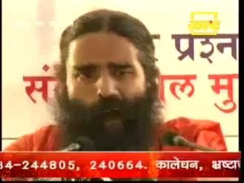 Baba Ramdev exposed congress conspiracy about Rajiv Dixit death and his Guru