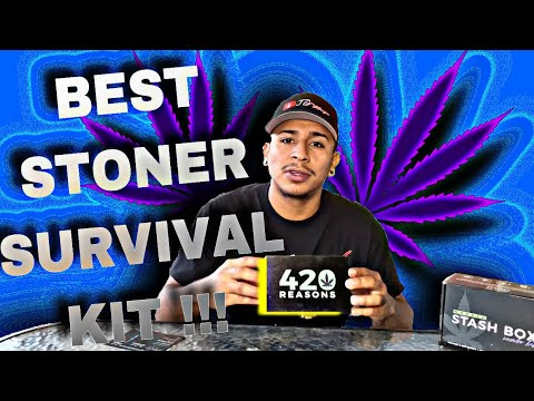 THE BEST STONER SURVIVAL KIT !!!(Stash Box)